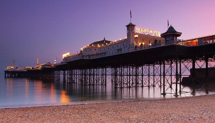 An Image of brighton palace pier