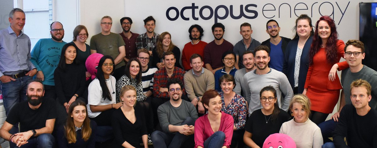 Octopus Energy Soho team photo