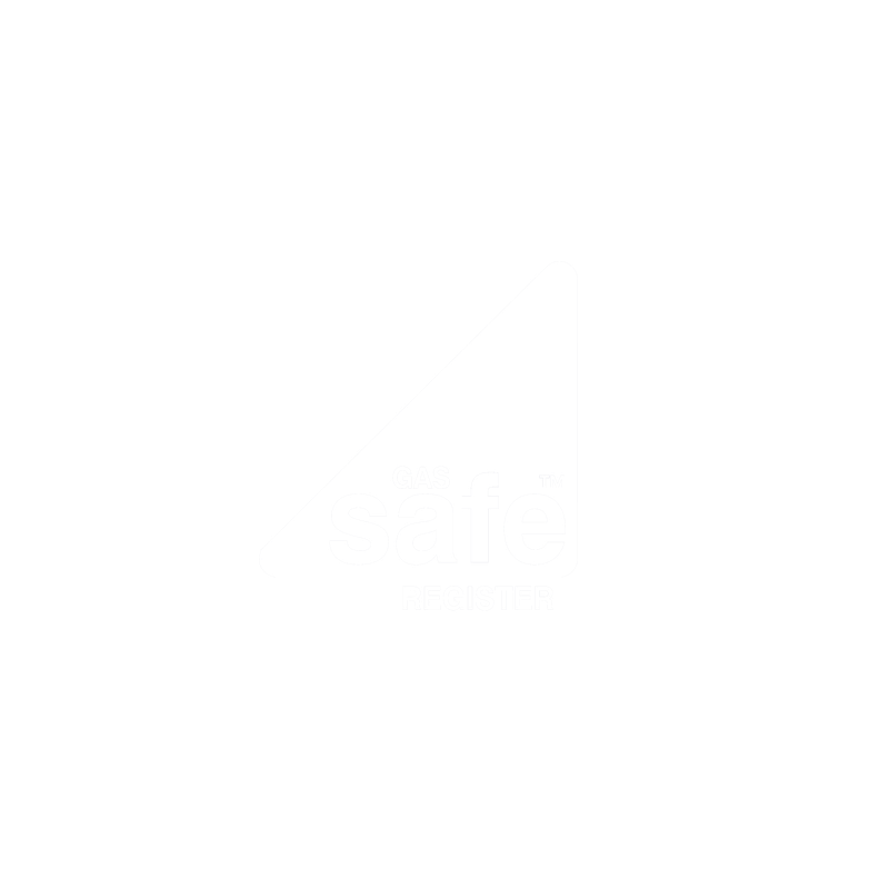A logo that shows we are 'gas safe' accredited