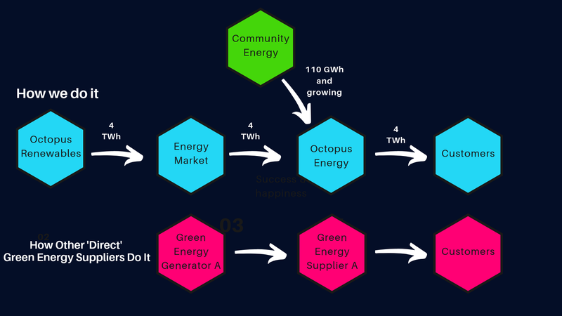 Green energy supply chain Octopus Renewables