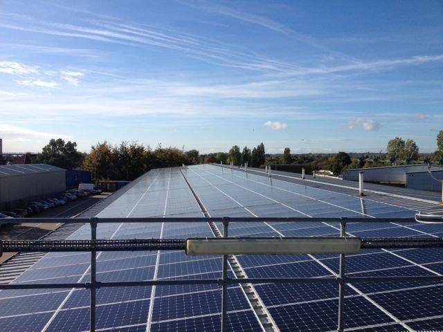 Oxford Bus Company solar