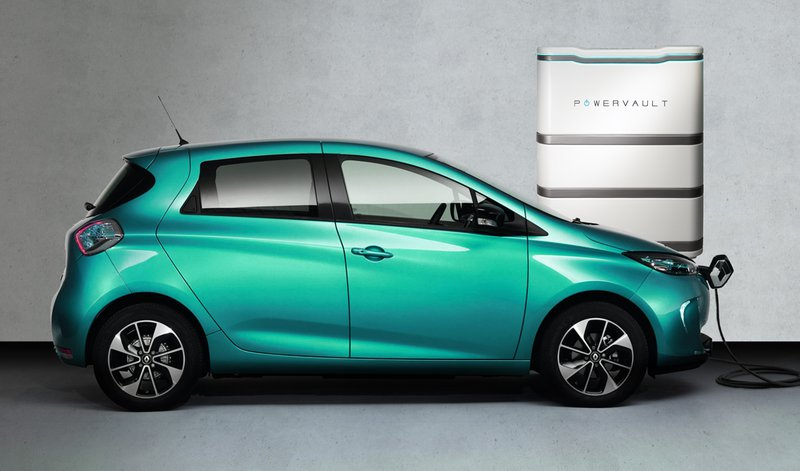 A powervault battery and an electric vehicle