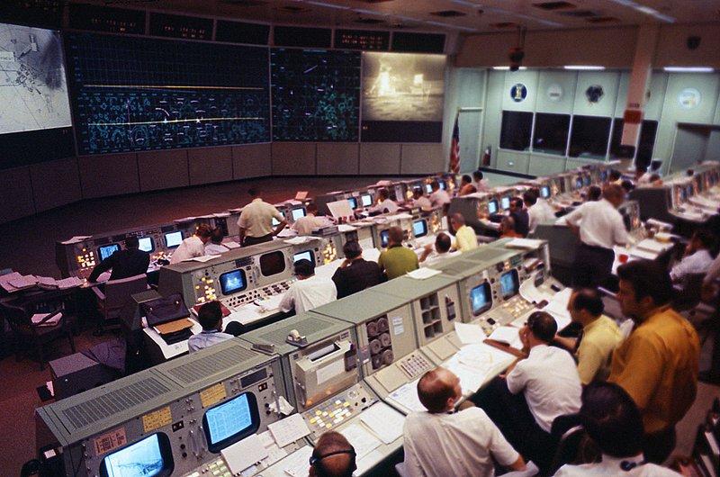 Apollo mission control