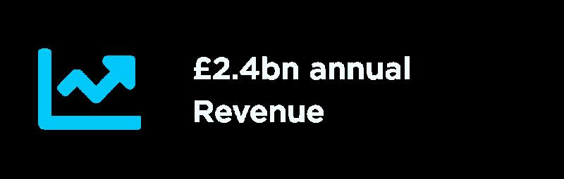 £2.4 billion in annual revenue